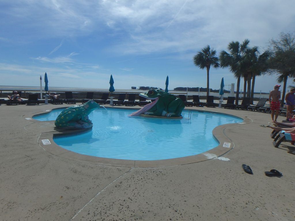 Childrens' wading pool at the Cabana Club
