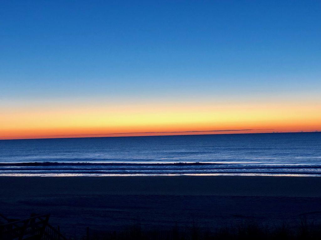 Beautiful skies before sunrise, pic taken from balcony!