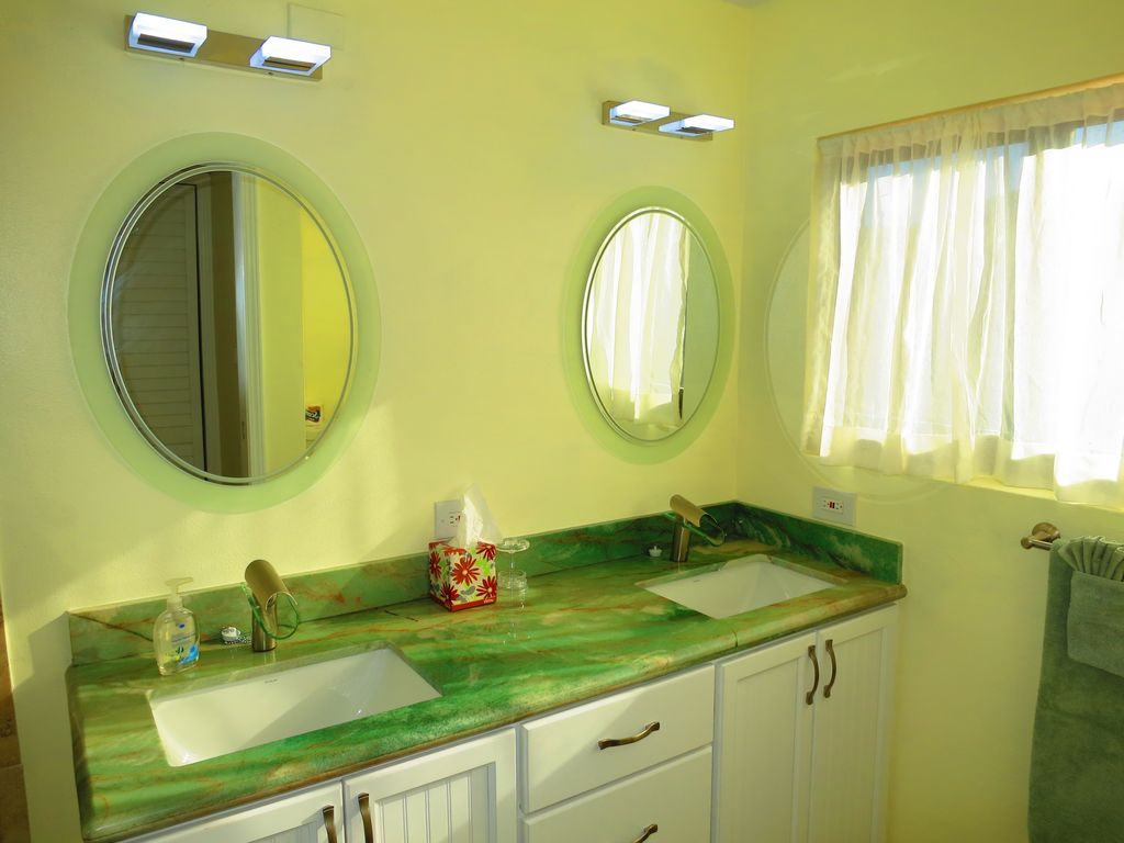 Top level bathroom