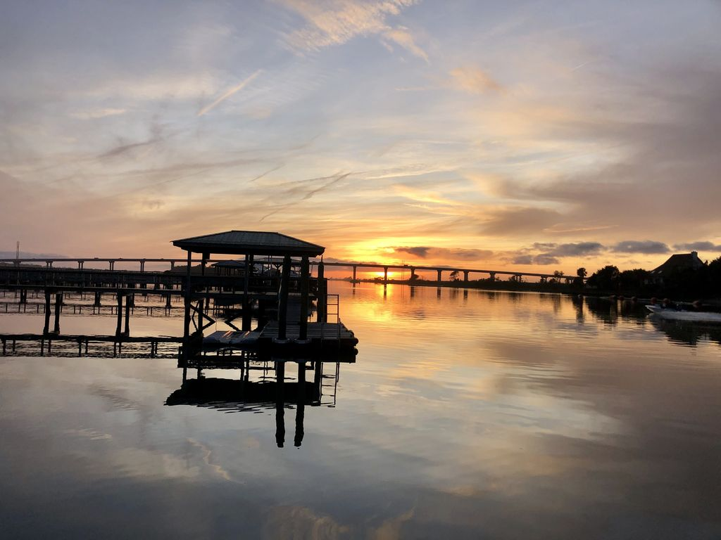 Enjoy the Stunning Sunsets!