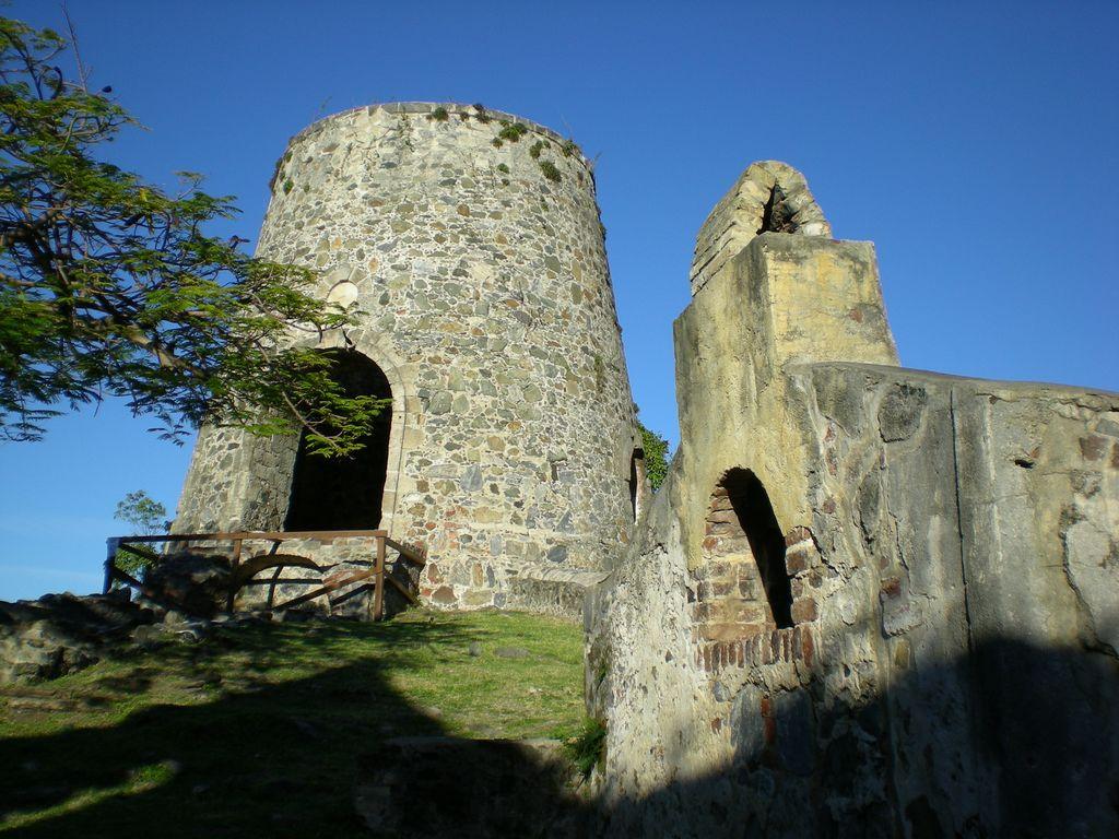 Ruins at St. John