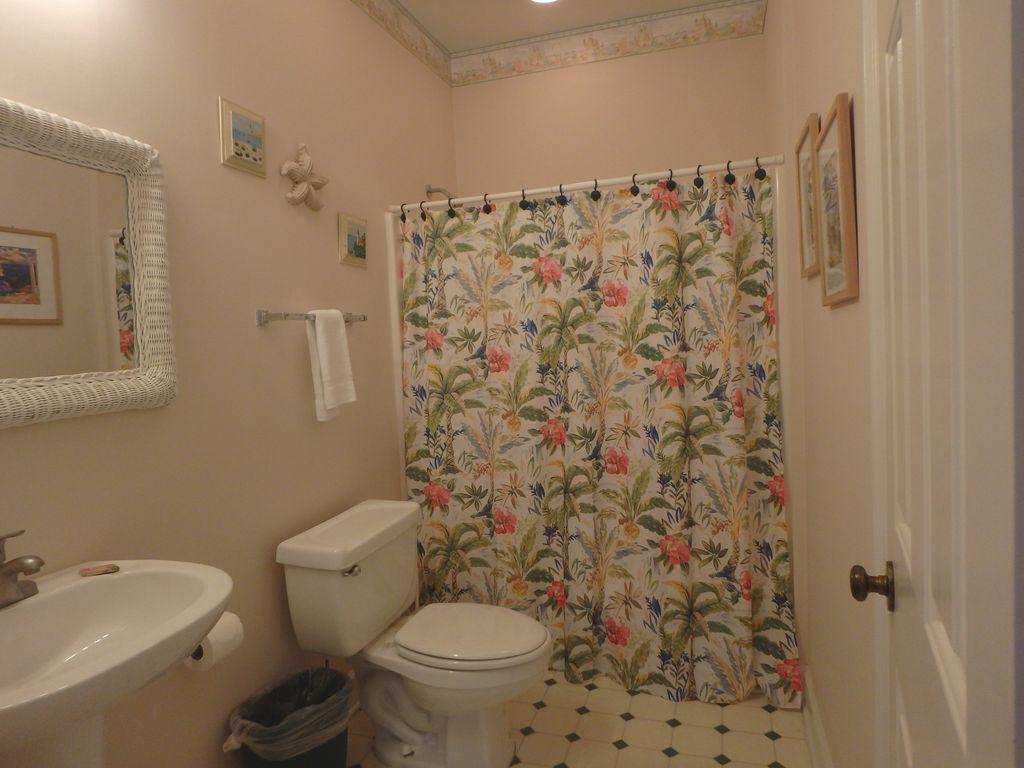 Full bath on first floor