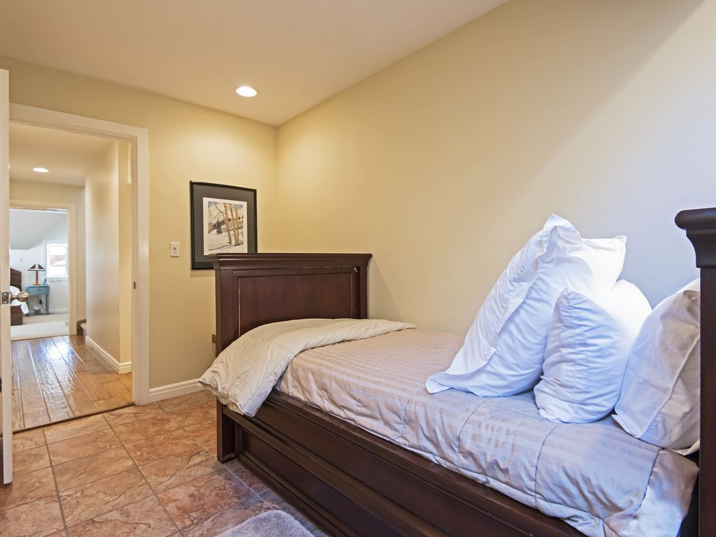 bedroom 4.  Twin/trundle bed. On 2nd level