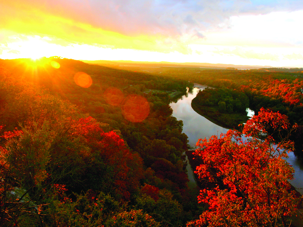 The beauty of the Ozarks is stunning all year long! (BCVB)