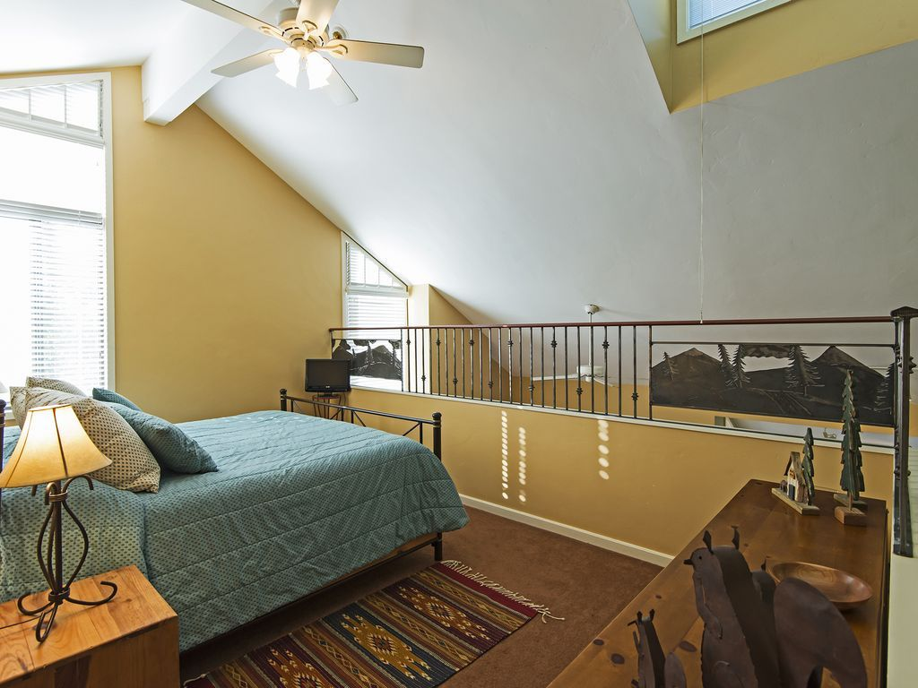 loft bedroom - open and large
