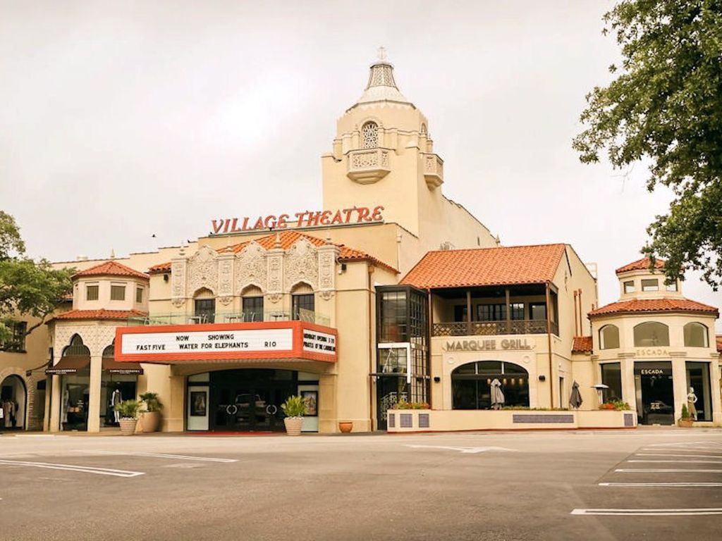 The old Village Theater