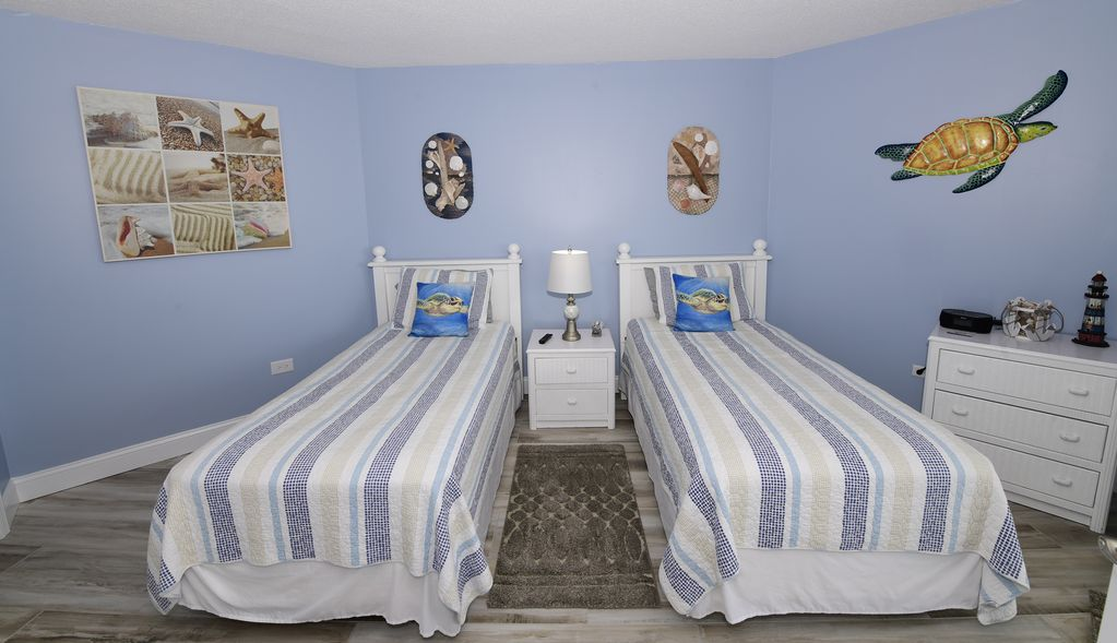 2nd Bedroom with Ocean from Views & walkout to Balcony.