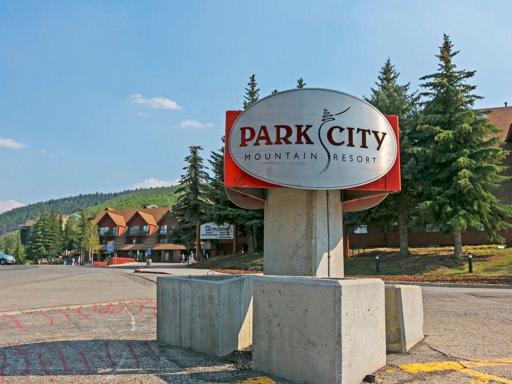 Parking Lot of Park City Mountain Resort-Vail. Just a few minute walk away