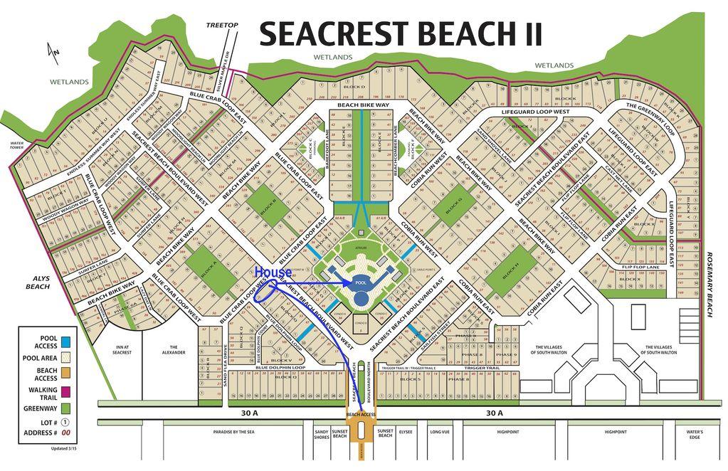 Seacrest Map