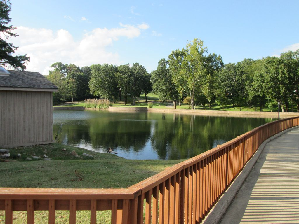 Take a stroll along Pointe Royale DR to catch and release pond. Fish-Kids only.