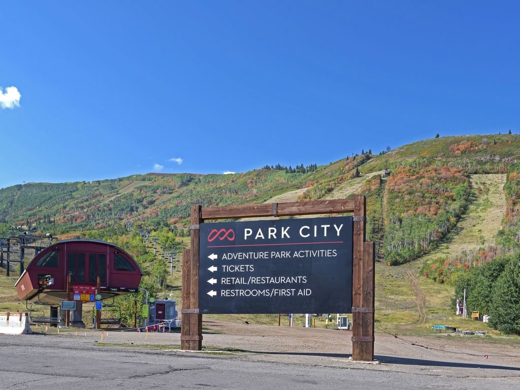 Across the road from Park City Resort