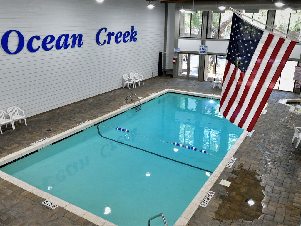 Ocean Creek Indoor Pool at Lodge #2.