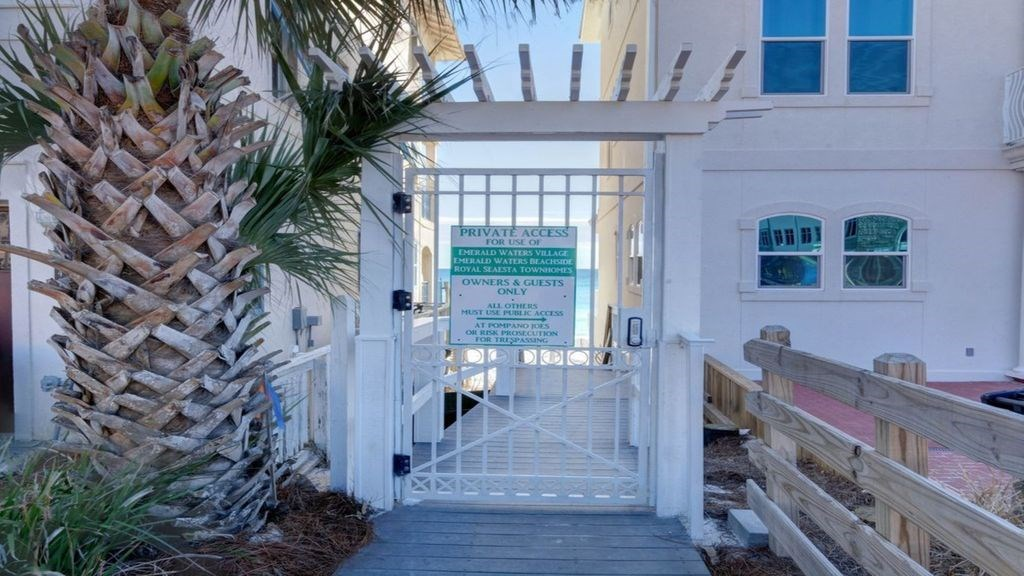 Deeded beach access.