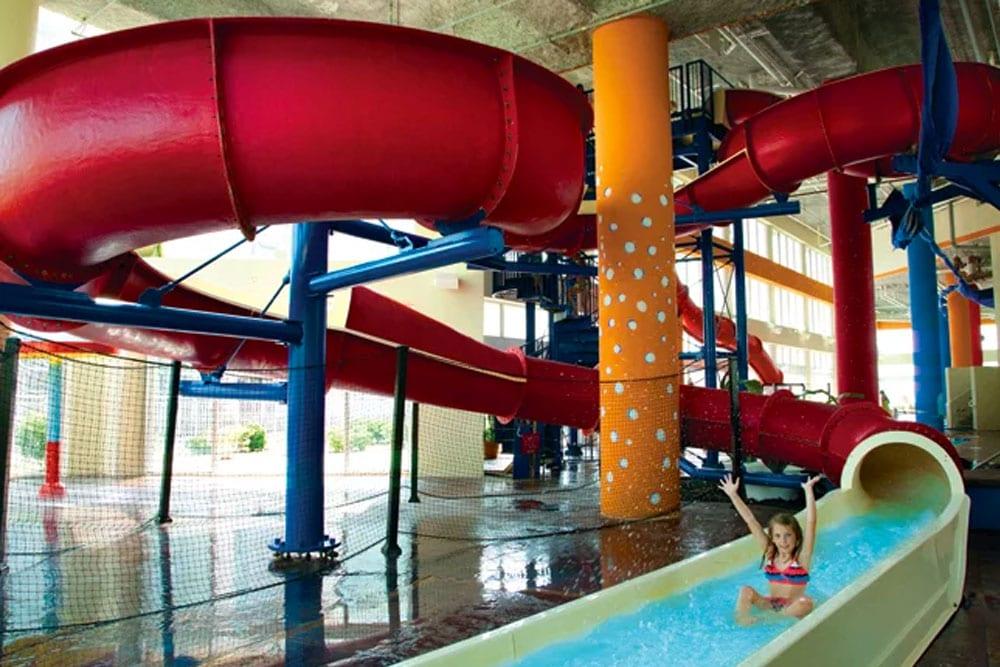Fantastic Indoor Waterpark