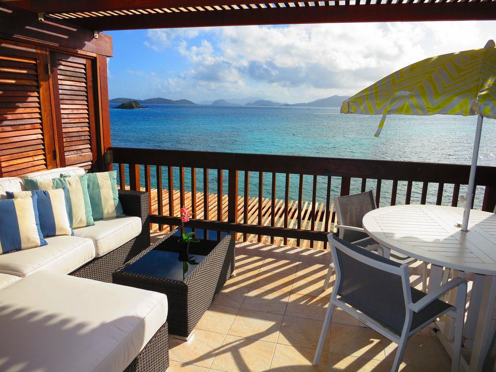 Balcony rest area