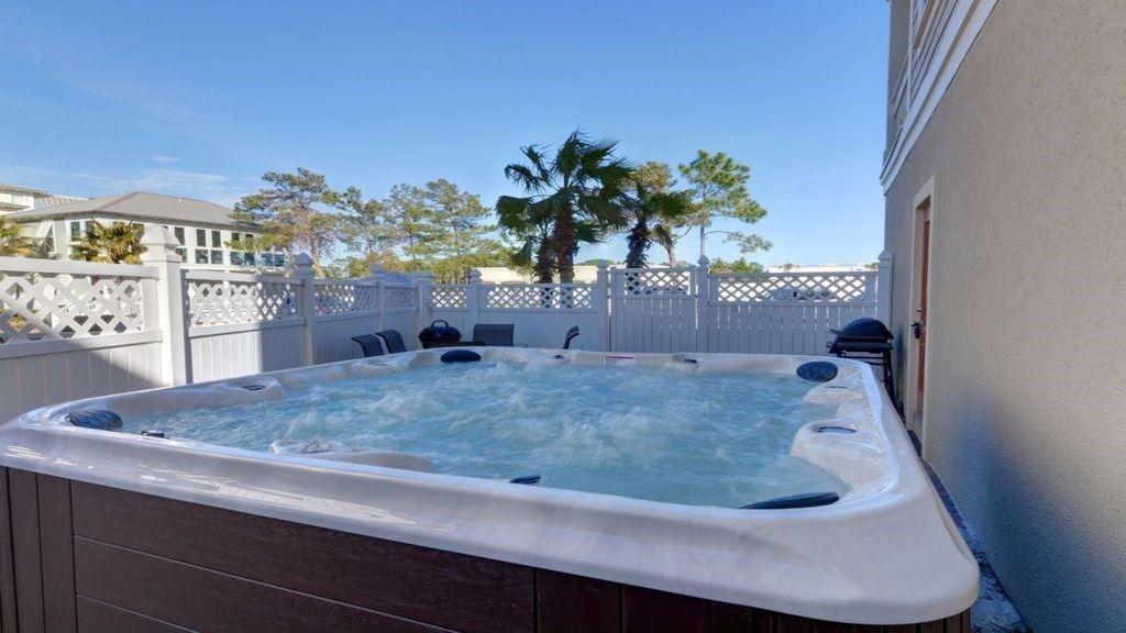 127 jetted hot tub.
