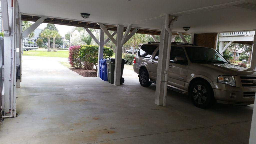 Under House parking