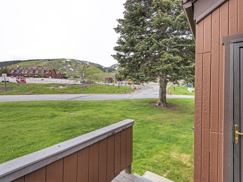 porch - looking at Park City Resort