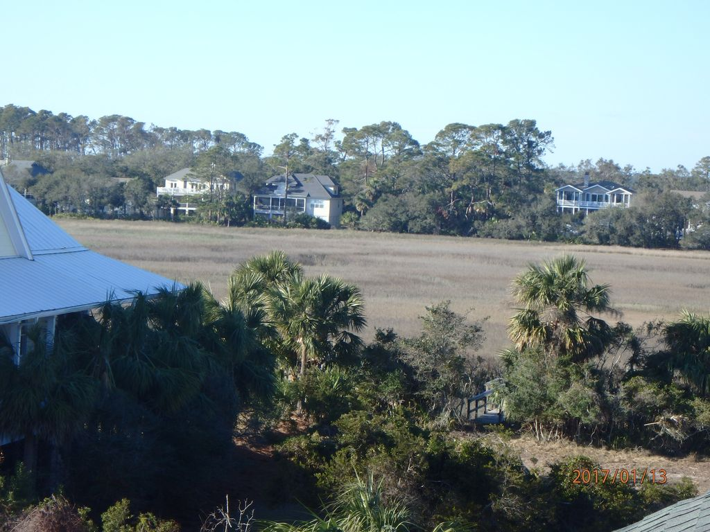 View of marsh from 3rd story deck