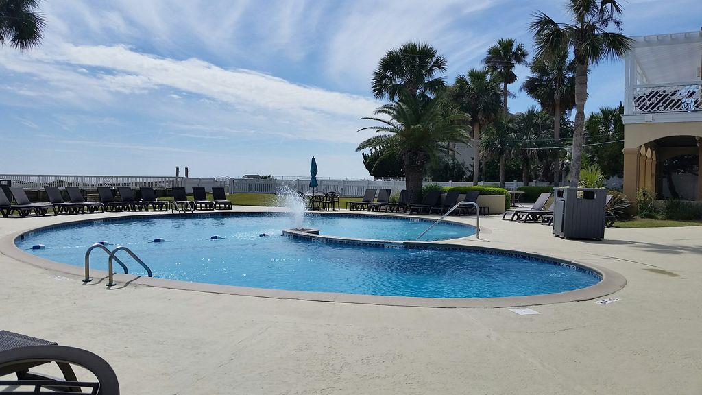 The Adults Only pool at the Beach Club Complex