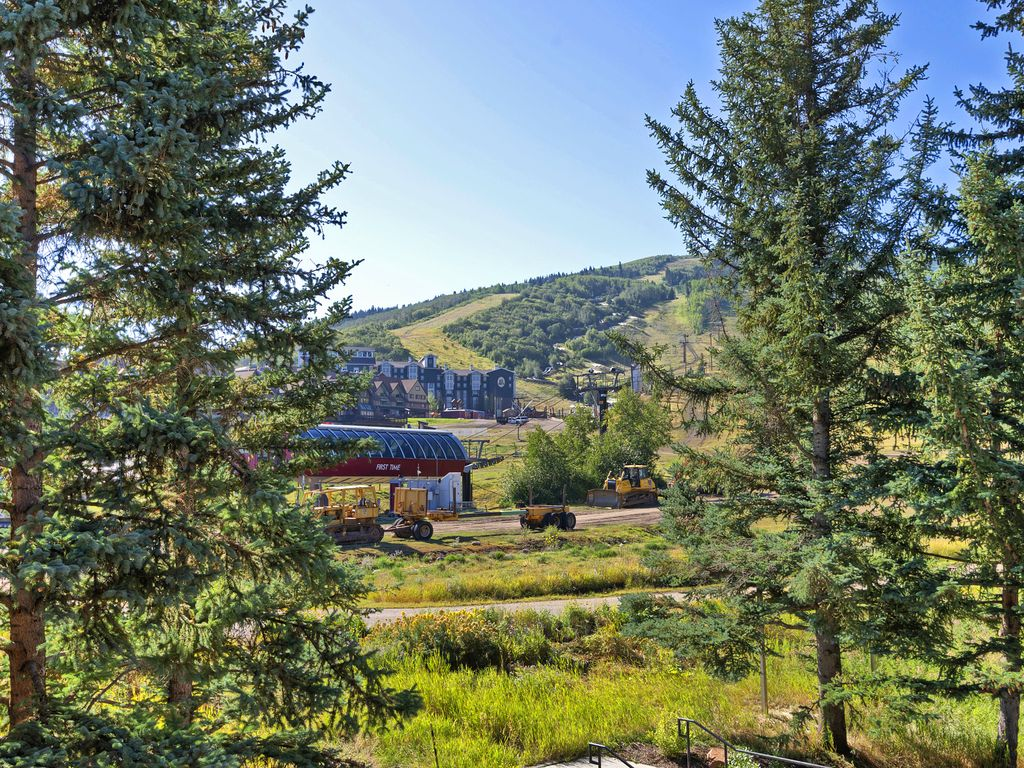View from Living area of Park City Resort