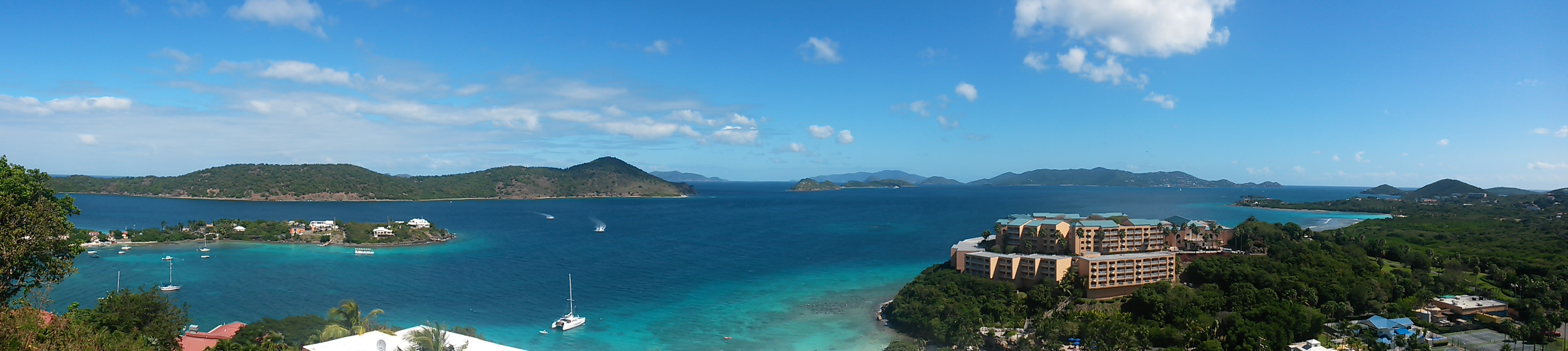 Paradise awaits (your view from the balcony).