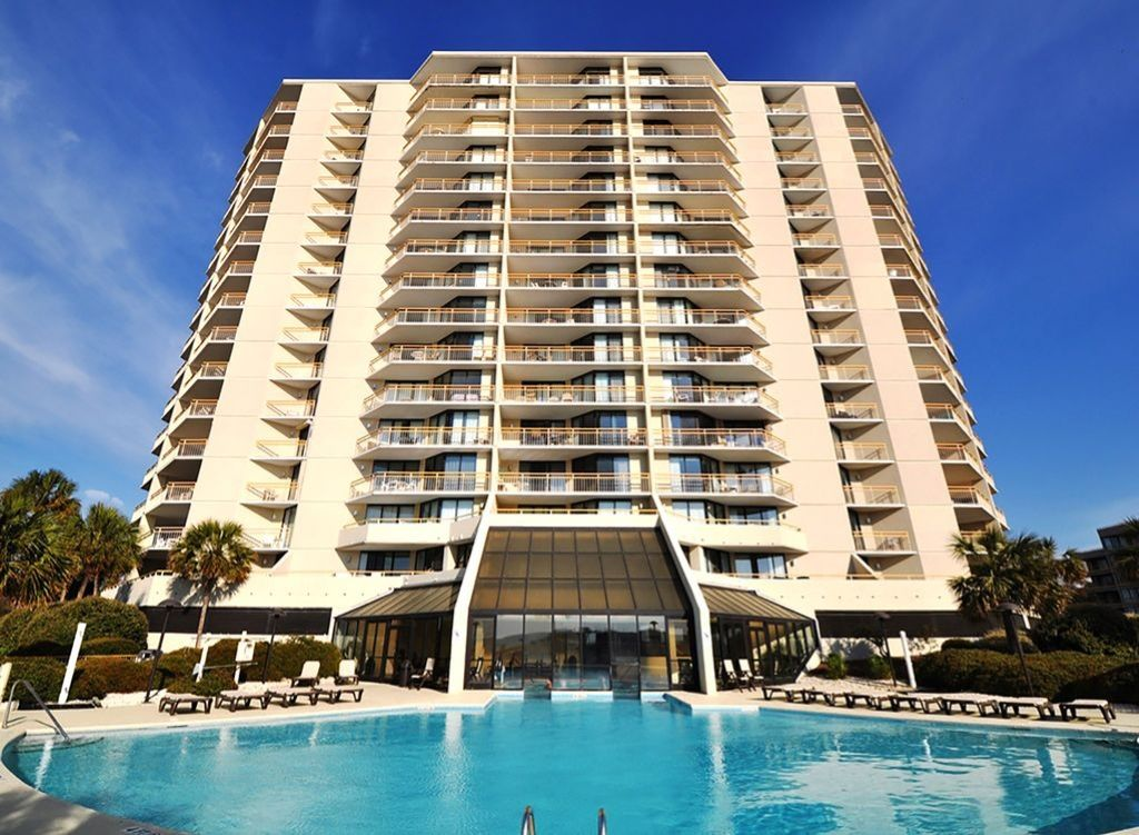 Tower South Direct Ocean View w/ Large Outdoor Pool & Indoor Hot Tub/Small Pool