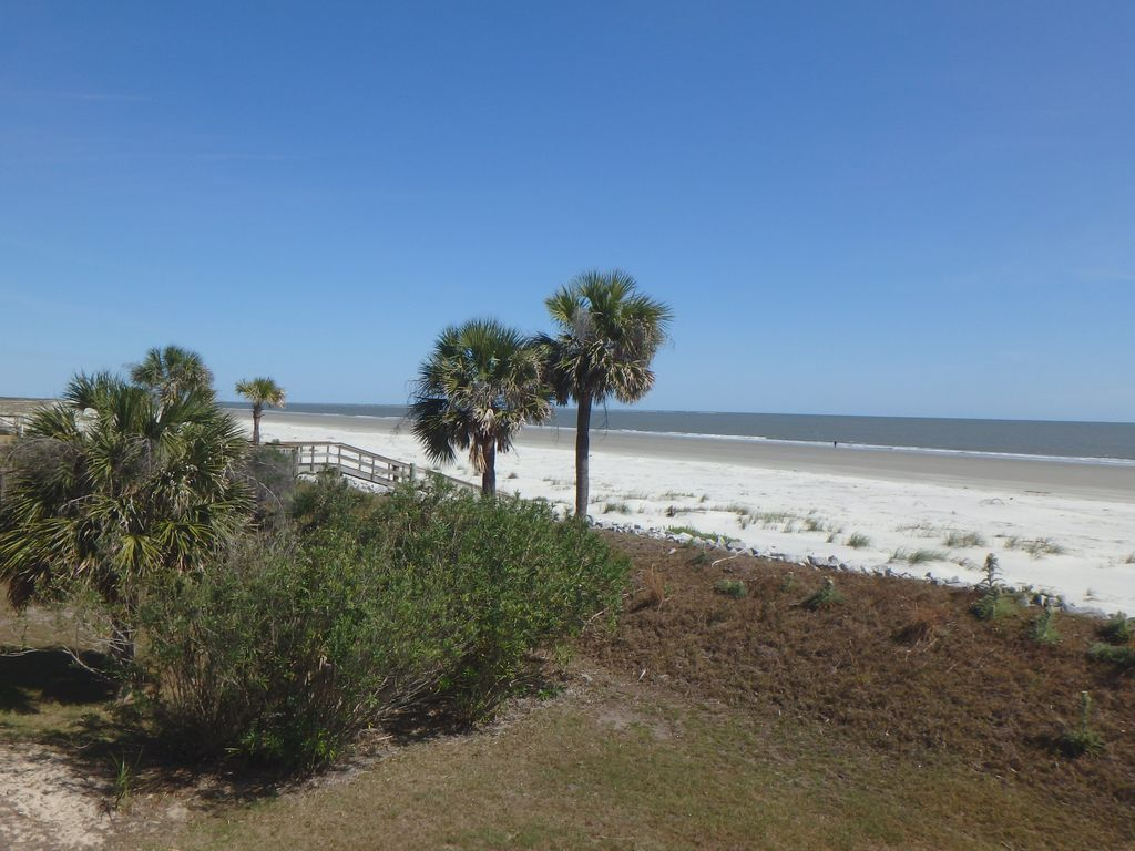 View of beach from deck of home (northern view)