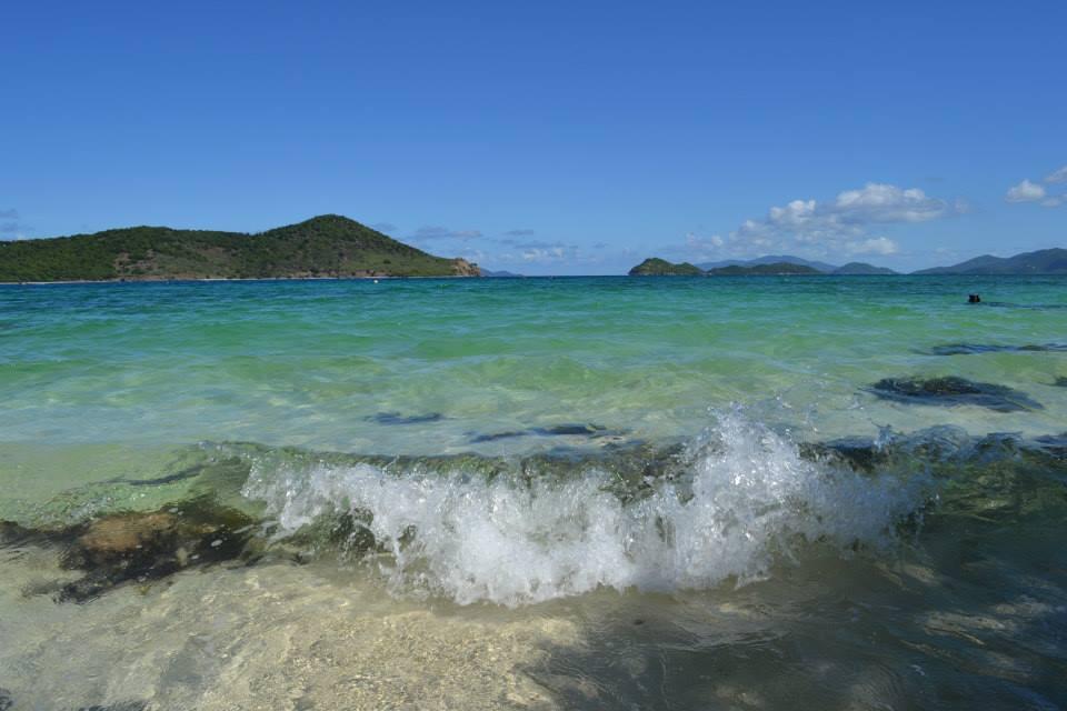 Resort's Private Beach.