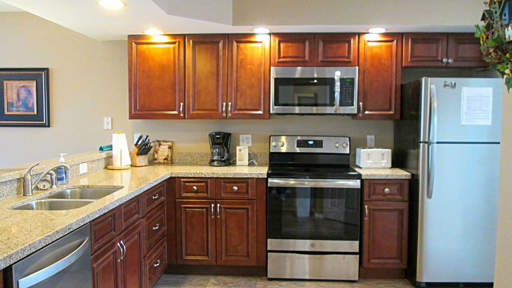 New kitchen. New appliances. New granite. New vacation experience for you.