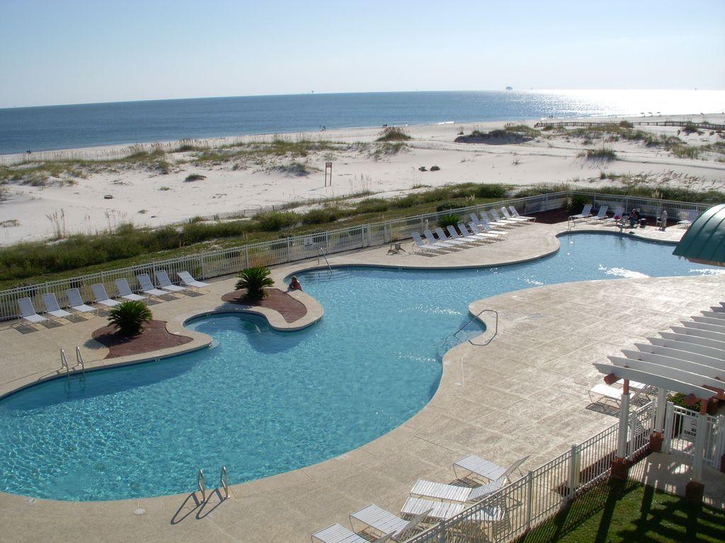 Larger pool.