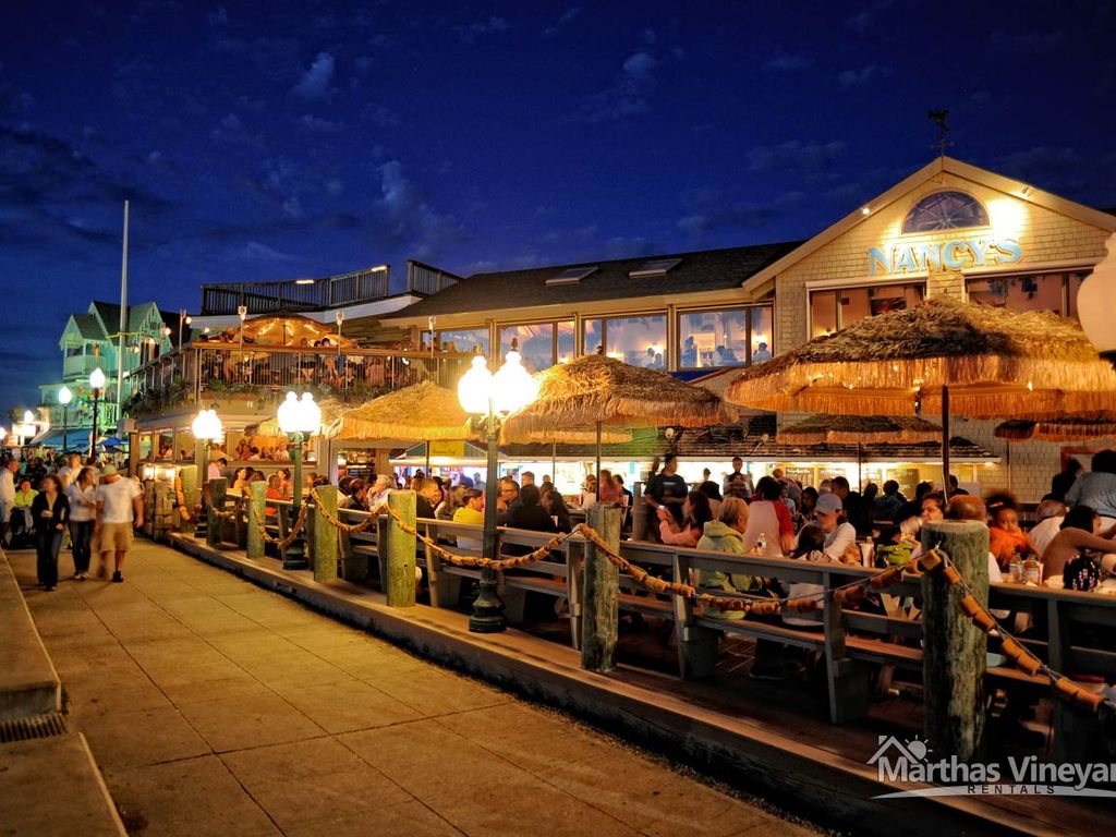 Dont miss the Oak Bluffs night life! Check out Nancy's or Coop De Ville