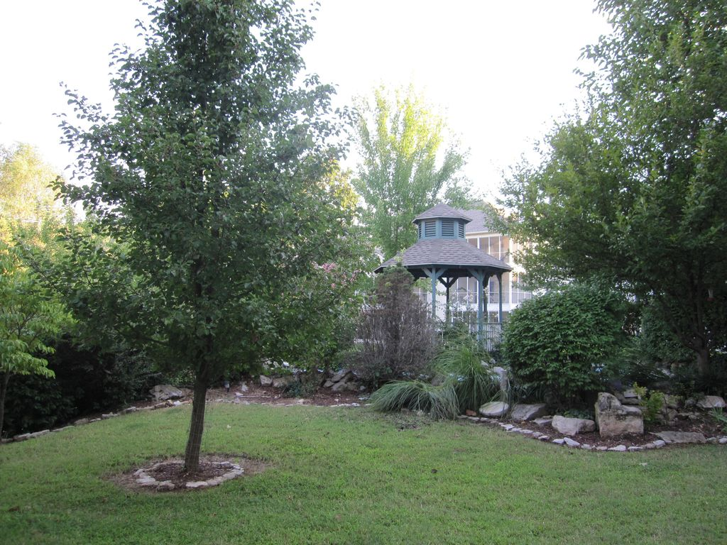 Only 24 condos back up to this hidden garden. We are thrilled we own 2 of them.