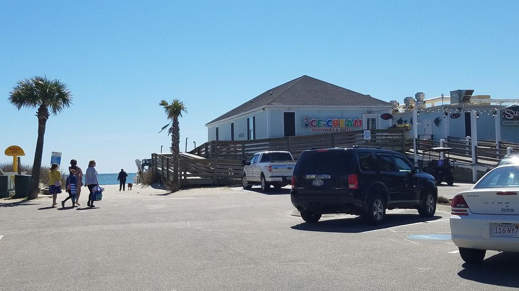 Pier access and free golf cart parking areas since you are our guests