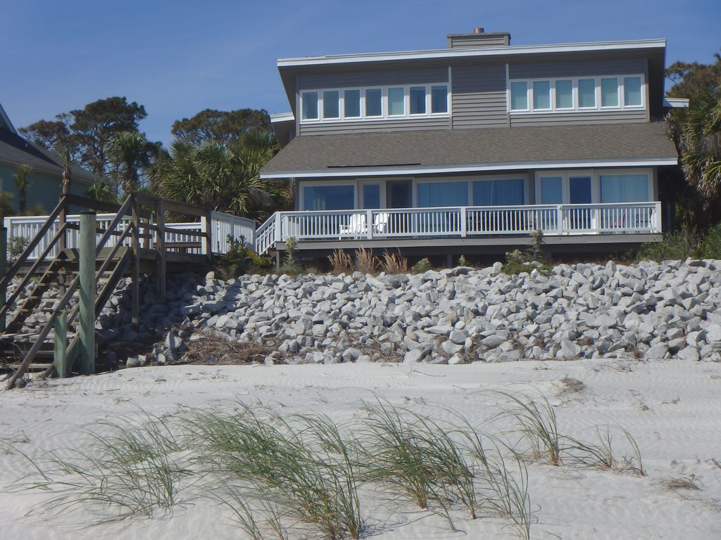 View of Home From Beach