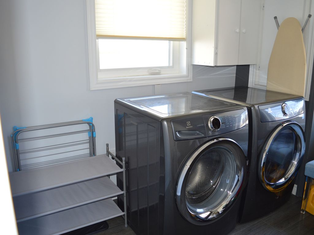 Washer & Dryer both available for use during your stay