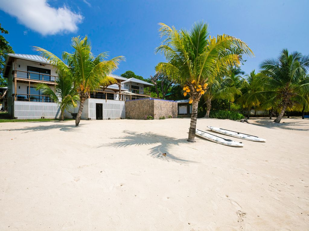Five paddle boards included with rental.