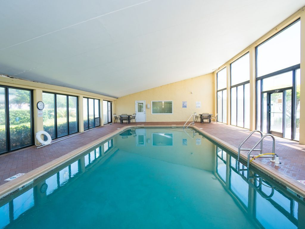 Indoor pool for your enjoyment!