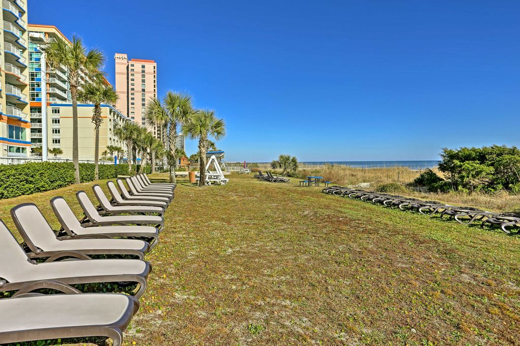 Oceanfront Lawn for Lounging