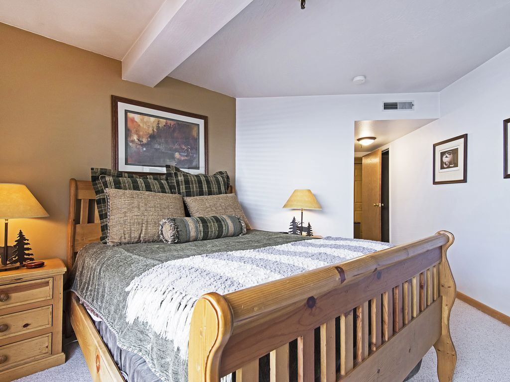 Bedroom Two - queen bed, ensuite bath