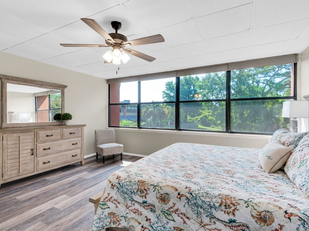 Light-filled spacious master bedroom