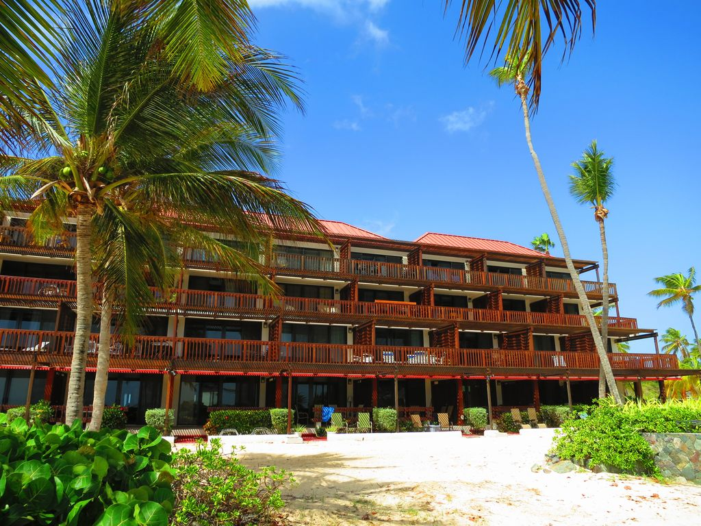 Building D is on the beach and close to the pool