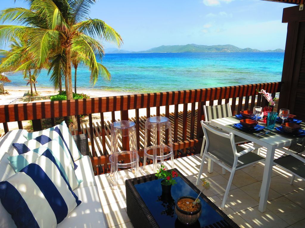 Direct view of St. John and British Virgin Islands directly from your balcony