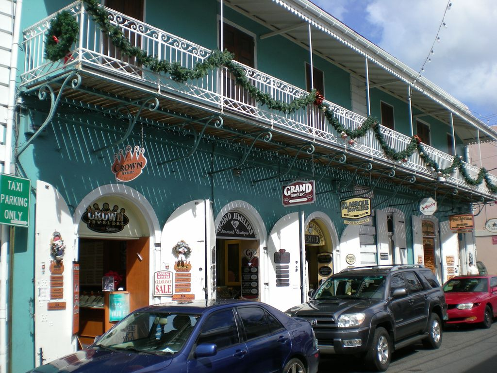 Duty free shopping at Charlotte Amalie