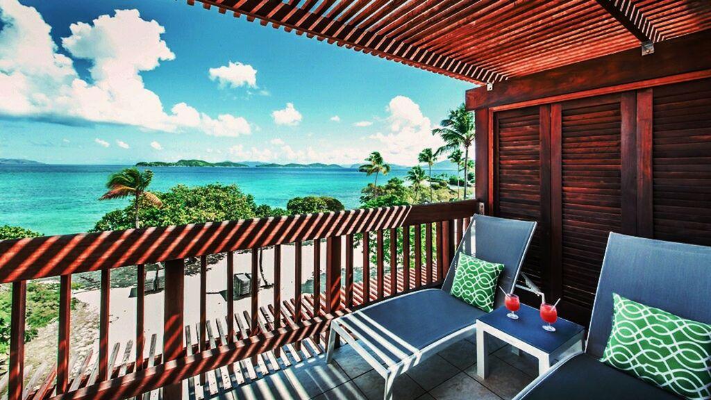 Top floor balcony view