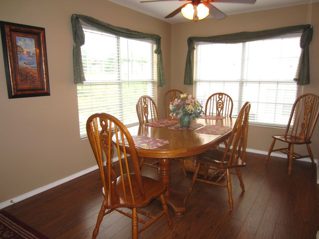 Dine with family & friends in your condo. It has all the comforts of home.
