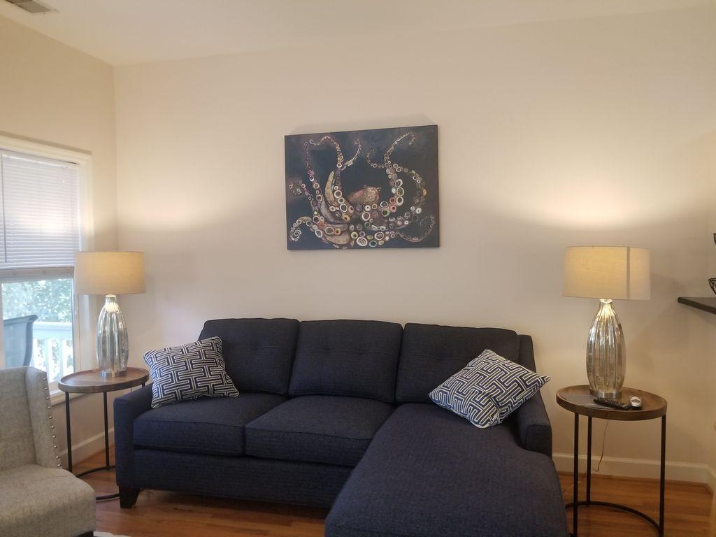 Queen Sleeper Sofa in living area.