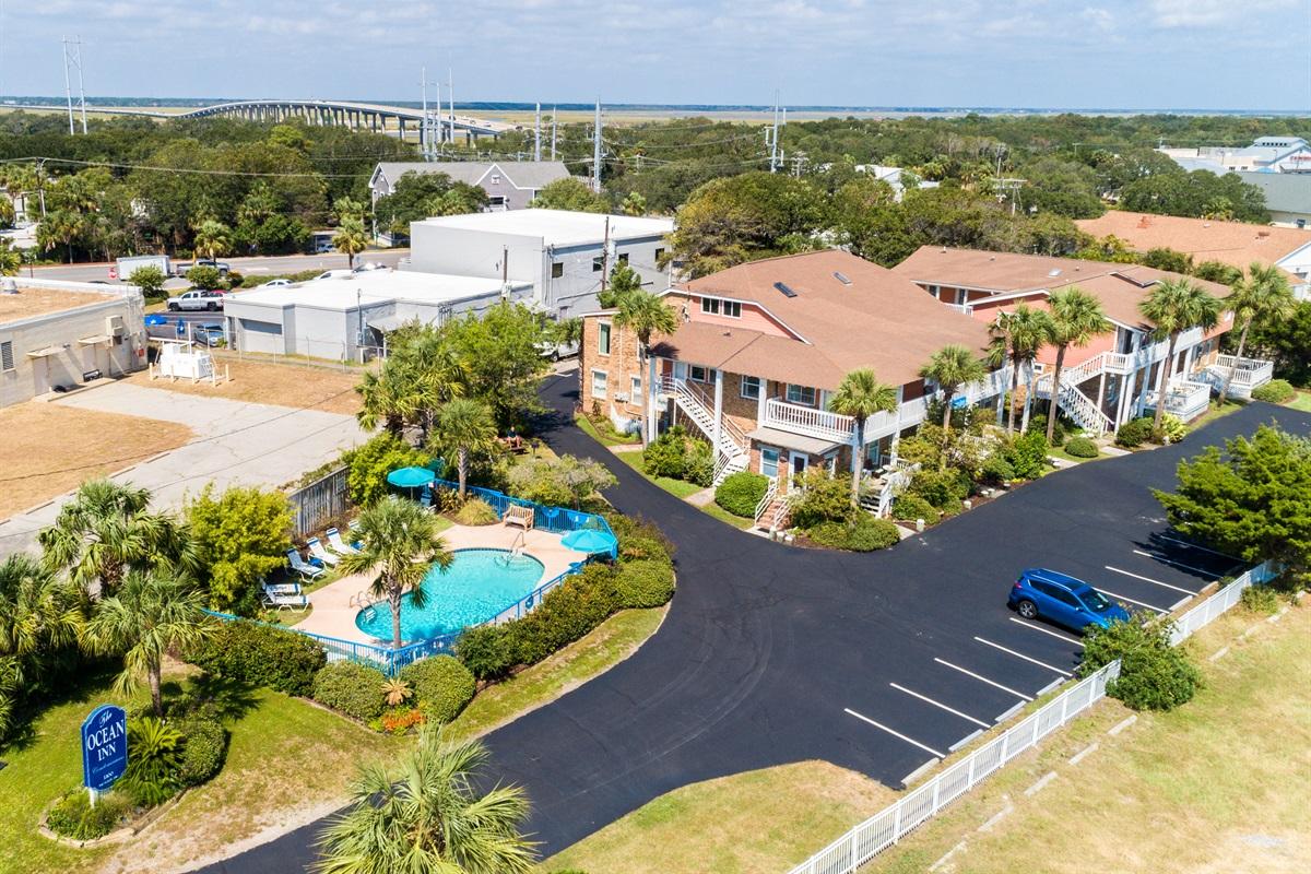 View of Ocean Inn