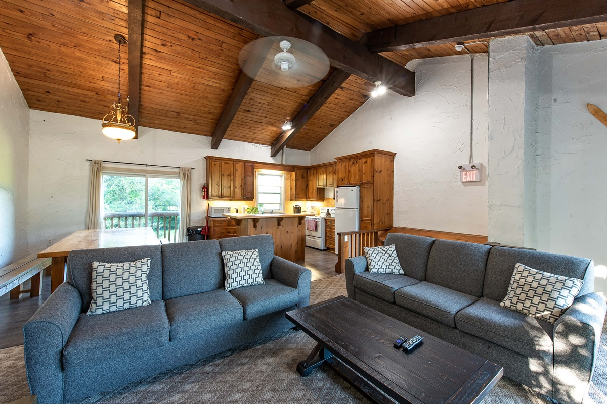 """""""Moose"""" - Open concept living, dining & kitchen"""