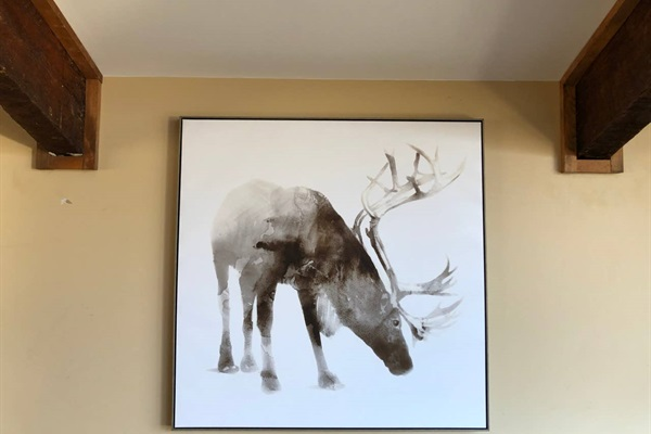 Another caribou in the chalet